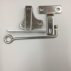 D'Latch, Striker and Handle for gate (Gramline,Stainless Steel and Zinc)